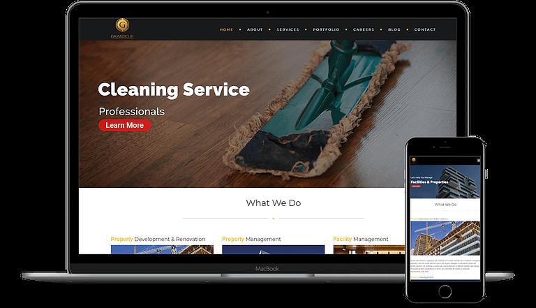 Main Website Upgrade, Landing Page Design & Social Media Ads For Grandeur Real-estate Company