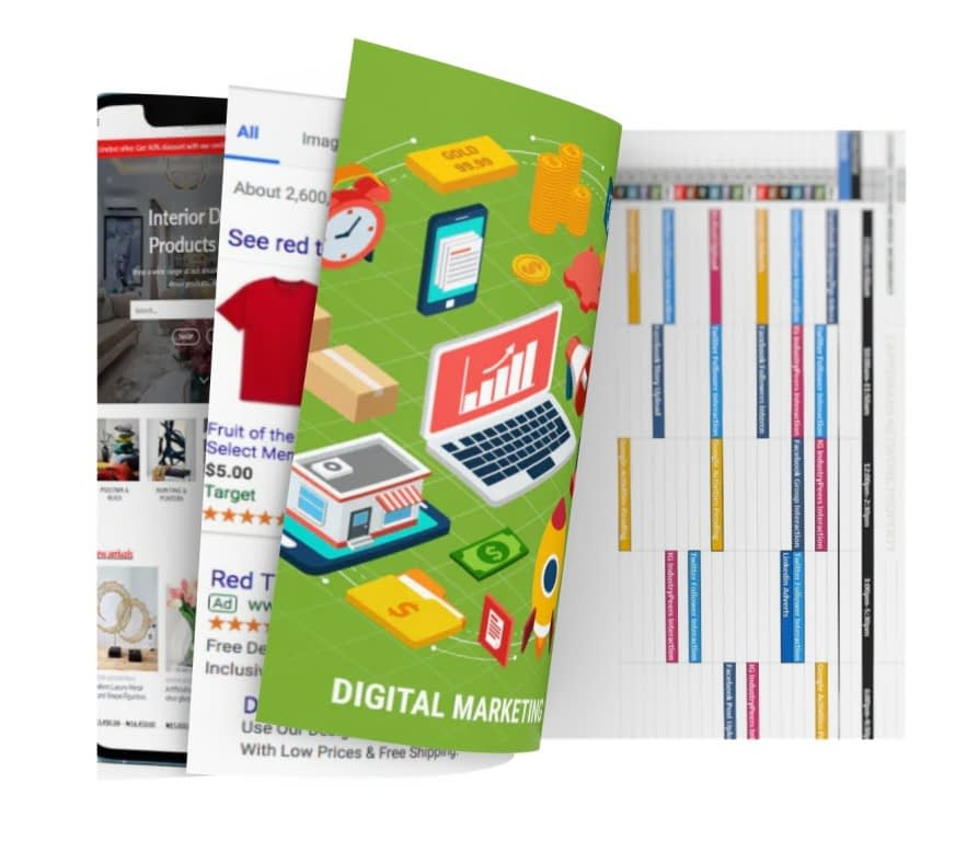 Capremark Network Digital Marketing Worksheet Image