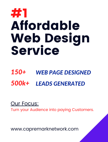 Affordable Website Design Company In Lagos-Nigeria