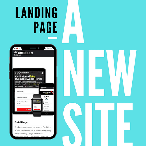Make more sales with a new landing page
