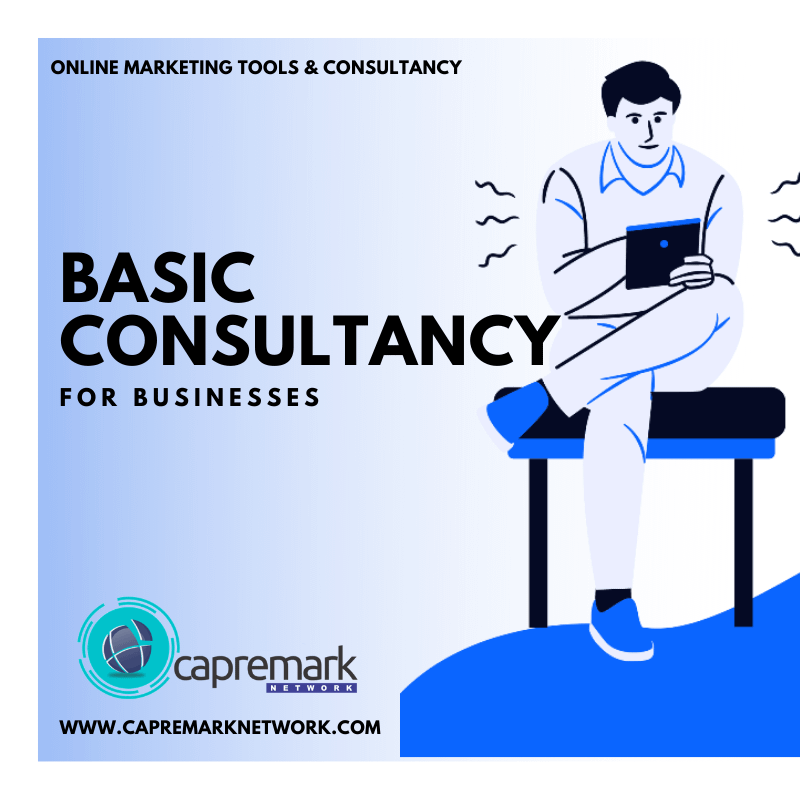 Basic Online Marketing Business Consultancy For Business Growth 2021