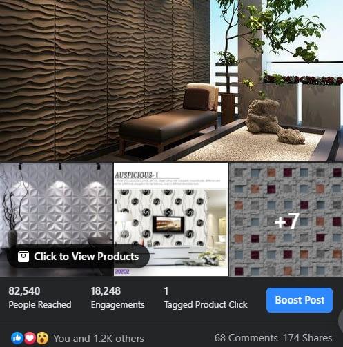 Social Media Ads Facebook Topchoice Interiors & Design