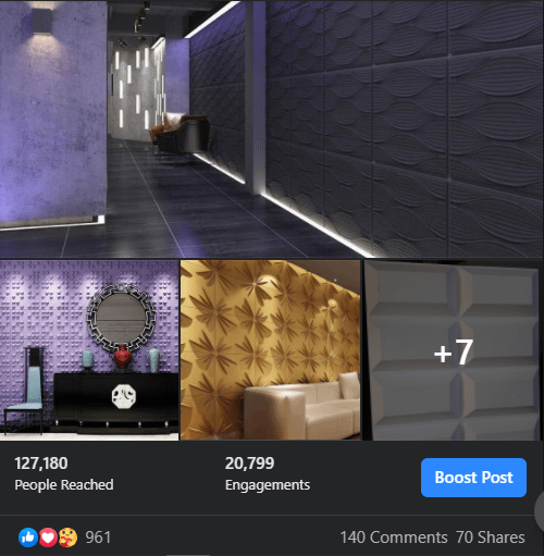 Social Media Ads Facebook Topchoice Interiors & Design