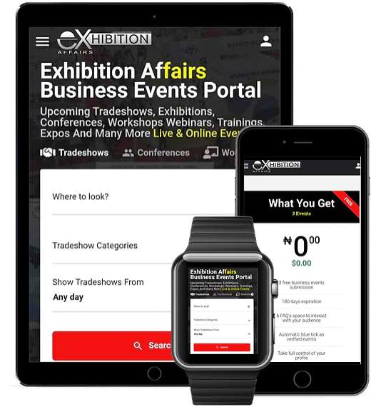 Exhibition Affairs Business Events Portal is a part of Capremark Network Media Group