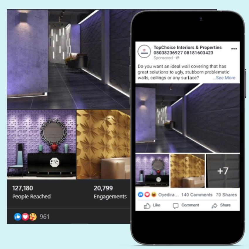 Social Media Ads Facebook Topchoice